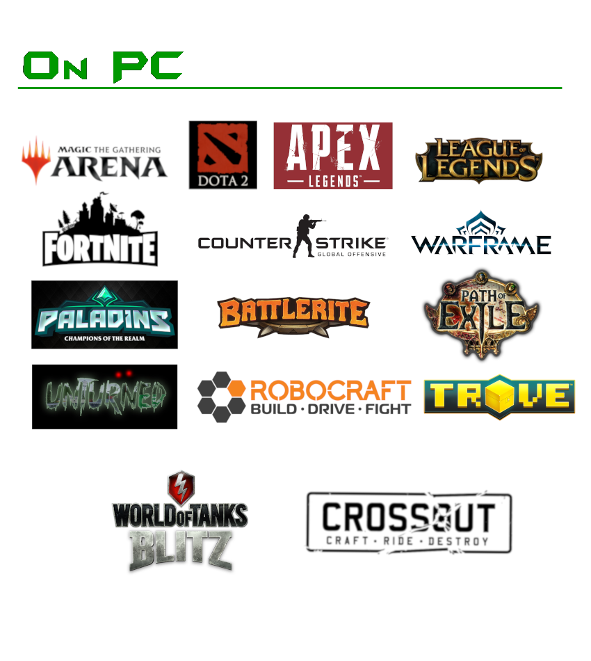 Game list side 1 website