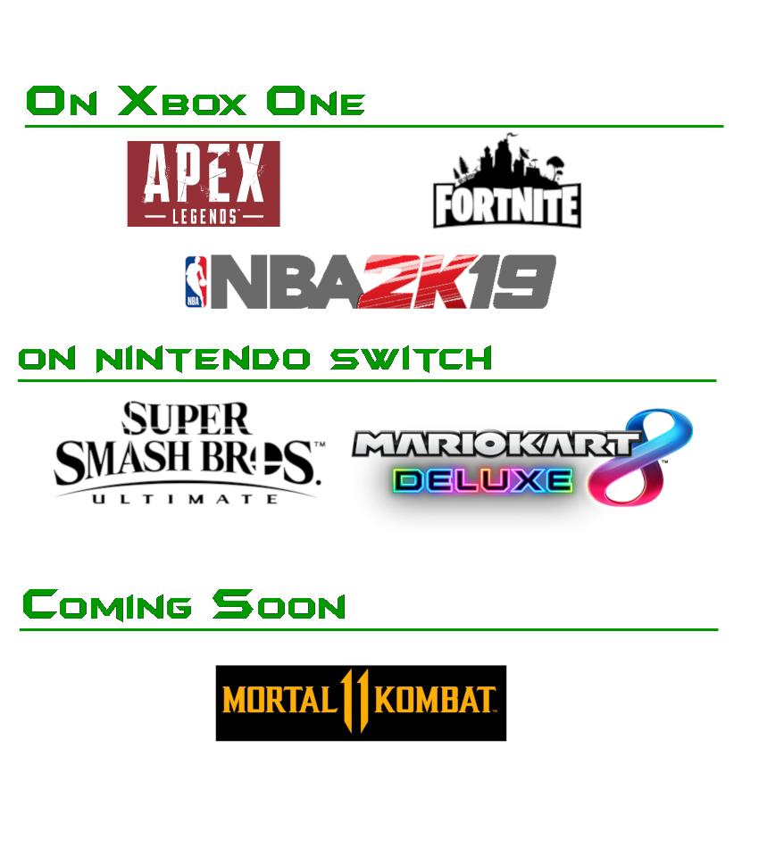 Game list side 2 website